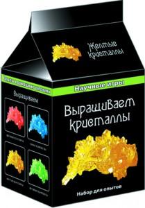 Набор для опытов Ranok Creative 'Выращиваем кристаллы. Желтые' (12116005Р)