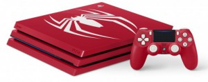 фото PlayStation 4 Pro 1Tb Red  Limited Edition Bundle + игра Marvel Человек-паук PS4 #2