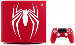 фото PlayStation 4 Pro 1Tb Red  Limited Edition Bundle + игра Marvel Человек-паук PS4 #3