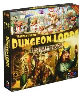 Настольная игра Cosmodrome Games Лорды Подземелий: Фестивальный сезон 'Dungeon Lords: Festival Season' (CGE00014)