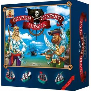 Настольная игра Сокровища старого пирата (800002)