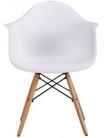 Кресло Salex PL Wood Белый (520664)