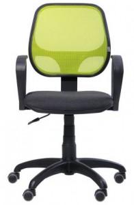 Кресло Бит-АМФ-7 сиденье А-2-спинка Сетка лайм (127166)