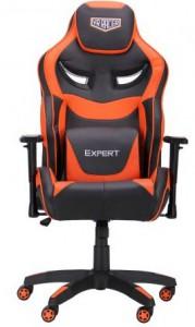 Кресло VR Racer Expert Genius черный-оранжевый (521173)
