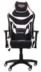 Кресло VR Racer Expert Virtuoso черный-белый (521170)