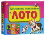 Настольная игра Рыжий Кот Лото Домашние животные