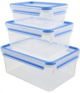 Подарок Набор контейнеров Emsa 'Clip&Close' 3 шт. (EM508567)