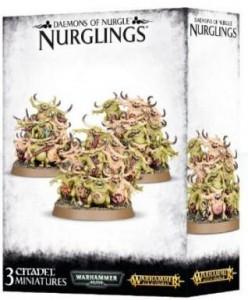 фигурка Фигурки для сборки Games Workshop 'Warhammer. Daemons of Nurgle Nurglins' (99129915037)