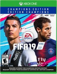 игра FIFA 19. Champions Xbox One - Русская версия