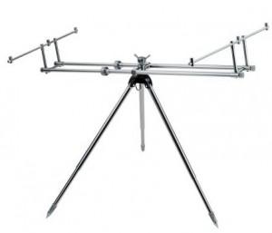 Подставка DAM Alu Rod Pod Gunsmoke для 3 удилищ  (2900011)