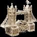 Механический конструктор из дерева Mr.Playwood 'Тауэрский мост' (10002)