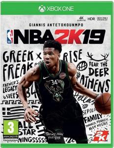 игра NBA 2K19 Xbox One