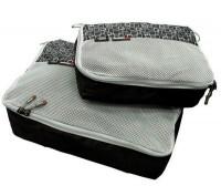 Чехол для одежды Caribee Packing Cubes Black 2шт (925453)