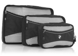 Чехол для одежды Heys Ecotex Packing Cube Grey 3шт (923605)