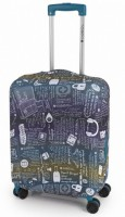 Чехол для чемодана Gabol (M) Multi Colour (925009)
