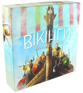 Настільна гра Garphill Games 'Вікінги Північного Моря' (2919)