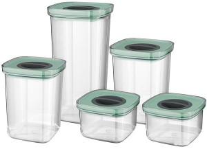 Подарок Набор контейнеров квадратных BergHOFF Leo 5 шт (3950129)