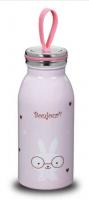 Термо-бутылка 350мл Bambino Kids розовая KORKMAZ (A691)