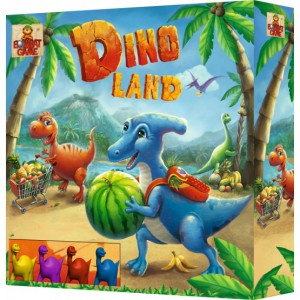 Настольная игра Bombat Game 'Dino Land' (4820172800224)