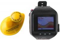 Эхолот часы Lucky цветной экран (FF518)