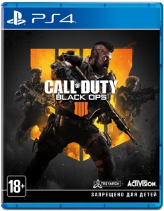 игра Call of Duty: Black Ops 4  PS4 - Pусская версия