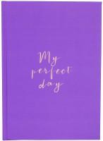Ежедневник LifeFLUX Diary 'My perfect day' фиолетовый (LFDRRPPU004)