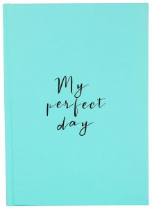 Ежедневник LifeFLUX Diary 'My perfect day' мятный (LFDRRPMI004)
