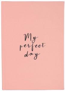 Ежедневник LifeFLUX Diary 'My perfect day' персиковый (LFDRRPPE004)