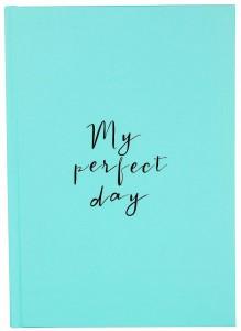 Щоденник LifeFLUX Diary 'My perfect day' м'ятний (LFDRUPMI004)