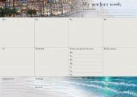 Еженедельник LifeFLUX 'Weekly My perfect day', вдохновляющий, море (LFWEEPSW005)