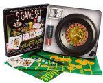 Настольная игра 5 в 1 'Покер' (D25354)