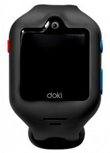 Детские смарт-часы Doki Watch S Shark Grey с GPS-трекером и видеозвонками (DOKIWATCH-2101-SG)