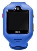 Детские смарт-часы Doki Watch S Sonic Blue с GPS-трекером и видеозвонками (DOKIWATCH-2101-SB)