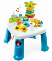 Детский игровой стол Smoby Toys Cotoons™ Цветочек со звуковыми и световыми эффектами голубой (211169)