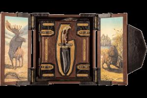 Книга Охота (с ножом)