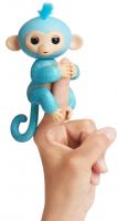 Интерактивная гламурная обезьянка WowWee Fingerlings голубая Амелия (W3760/3761)