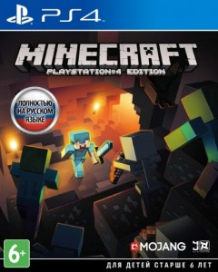 игра Minecraft. Playstation 4 Edition PS4 - русская версия