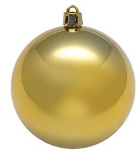 Подарок Набор для создания оттиска Baby Art 'Рождественский шар Золотистый' (34120154)