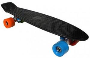 Скейтборд Awaii SK8 Vintage 22.5' черный, до 100кг (SKAWVIN22-000N0)