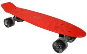 Скейтборд Awaii SK8 Vintage 22.5' красный, до 100кг (SKAWVIN22-000R0)