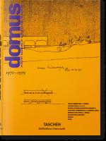 Книга Domus 1970-s