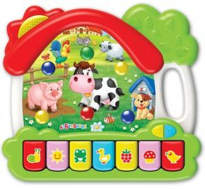 Музыкальная игрушка Азбукварик 'Ферма'