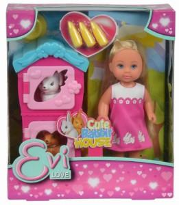 Кукольный набор Simba Evi 'Домик кроликов с аксессуарами' (5733065)