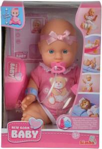 Кукольный набор Simba Пупс NBB Со свидетельством о рождении и аксессуарами (5030069)