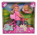 Кукольный набор Simba Toys Эви 'Холидей.На велосипеде' (5733273)