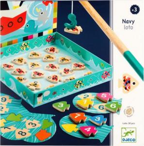 Настольная игра Djeco 'Морское лото' (DJ01688)