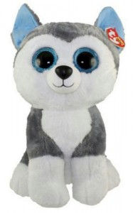 Мягкая игрушка TY Beanie Boo's 'Щенок Хаски Slush' 50 см (37069)