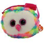 Сумочка TY Gear 'Разноцветная сова Owen' (95103)