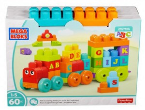 Конструктор Mega Bloks Fisher-Price 'Поезд с буквами' (DXH35)