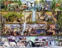 Пазл Ravensburger Царство диких животных, 2000 элементов (RSV-166527)